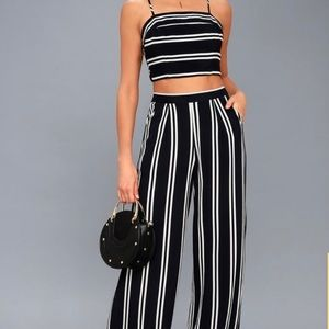 Two Piece Romper Set